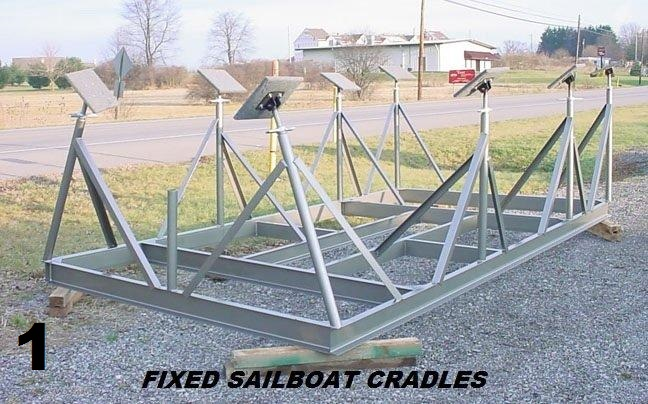 Sailboat Cradles/Trailers