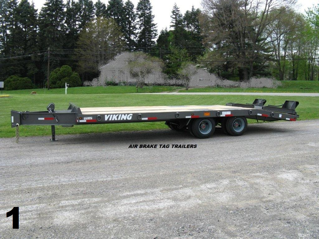 Air Brake Tag Trailers